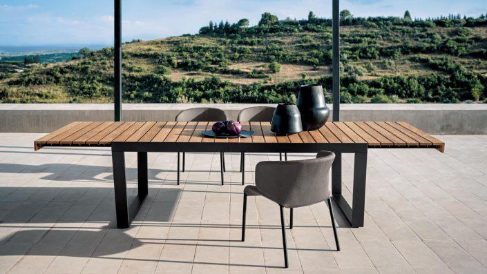 Roda, Spinnaker table